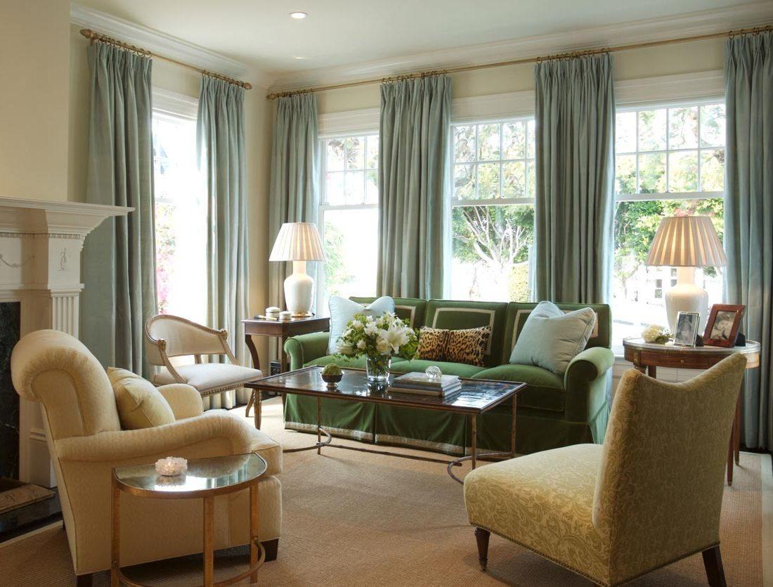 cortinas para el saln - Cortinas Salon