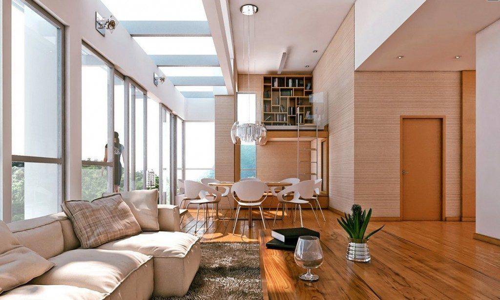 Galer a de im genes ideas para crear un sal n comedor - Ideas para decorar un salon comedor ...