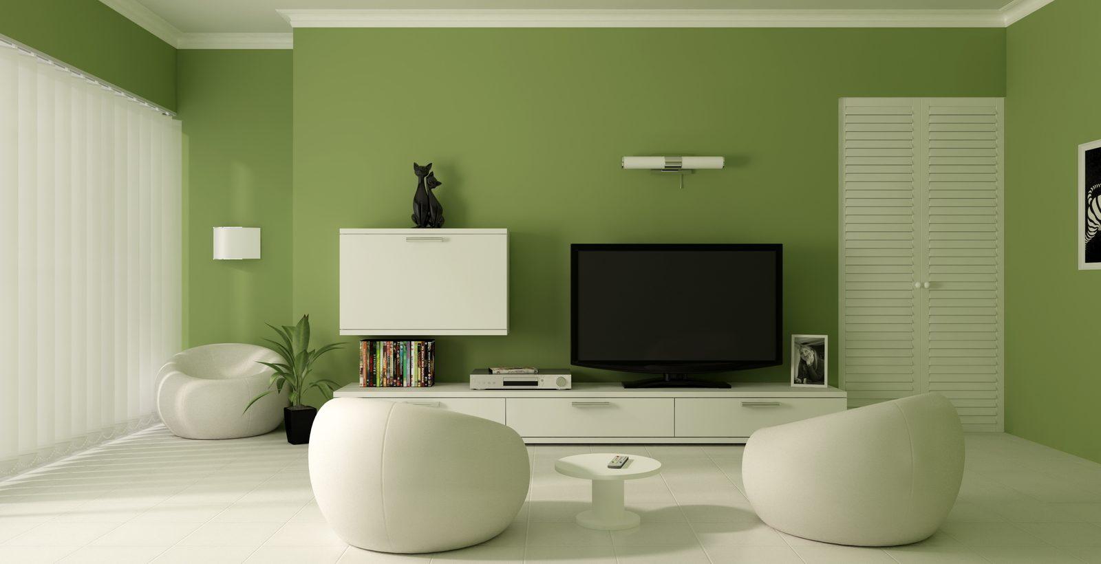 saln de colores verdes